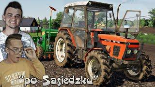 """""""Po Sąsiedzku"""" #10 FS19 ✔ Testy Free Tracka, uprawa i siew trawy!! ☆ MafiaSolec"""