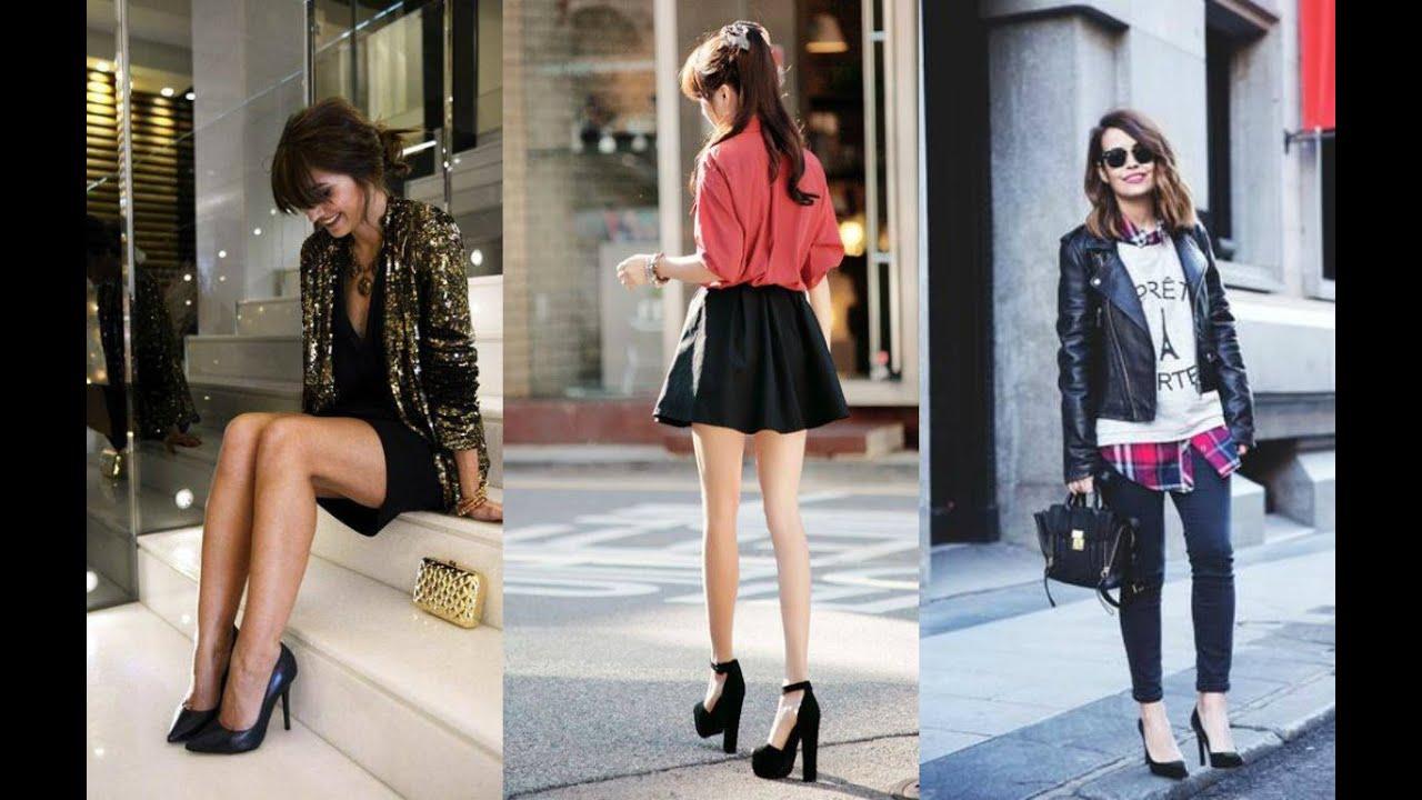 Como combinar mis zapatos negros estilos de mujeres - Colores para combinar ...