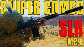 Sniper Combo - SLR w/ M24 | PUBG