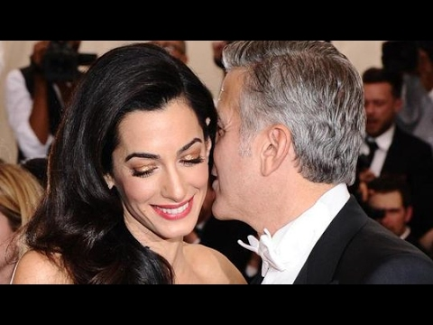 Reports : George and Amal Clooney are expecting twins