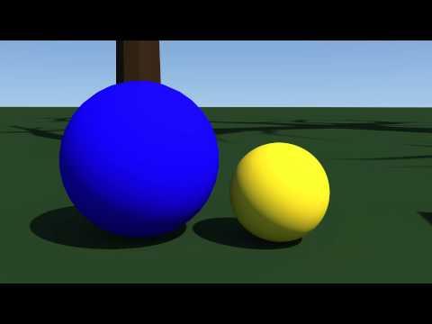 Siblings, a bouncing ball animation