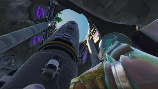 Fortnite Battle Royale: Discovering The Evil Villain's Secret Lair!