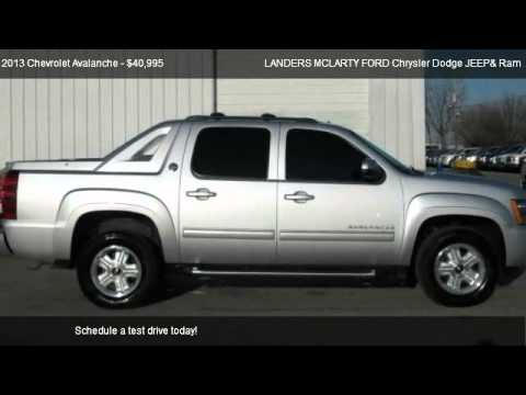 Landers Mclarty Chevrolet >> 2013 Chevrolet Avalanche Black Diamond 4WD - for sale in ...