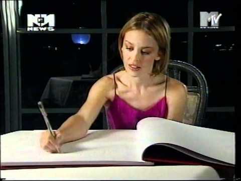 MTV Europe News 1998 - Aqua, Kylie Minogue, Natalie Imbruglia (Vj Kicki Berg)