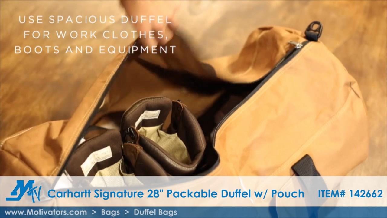 853768cb94 Duffel Bags - Carhartt Signature 28