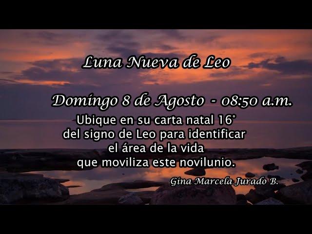 Luna Nueva de Leo