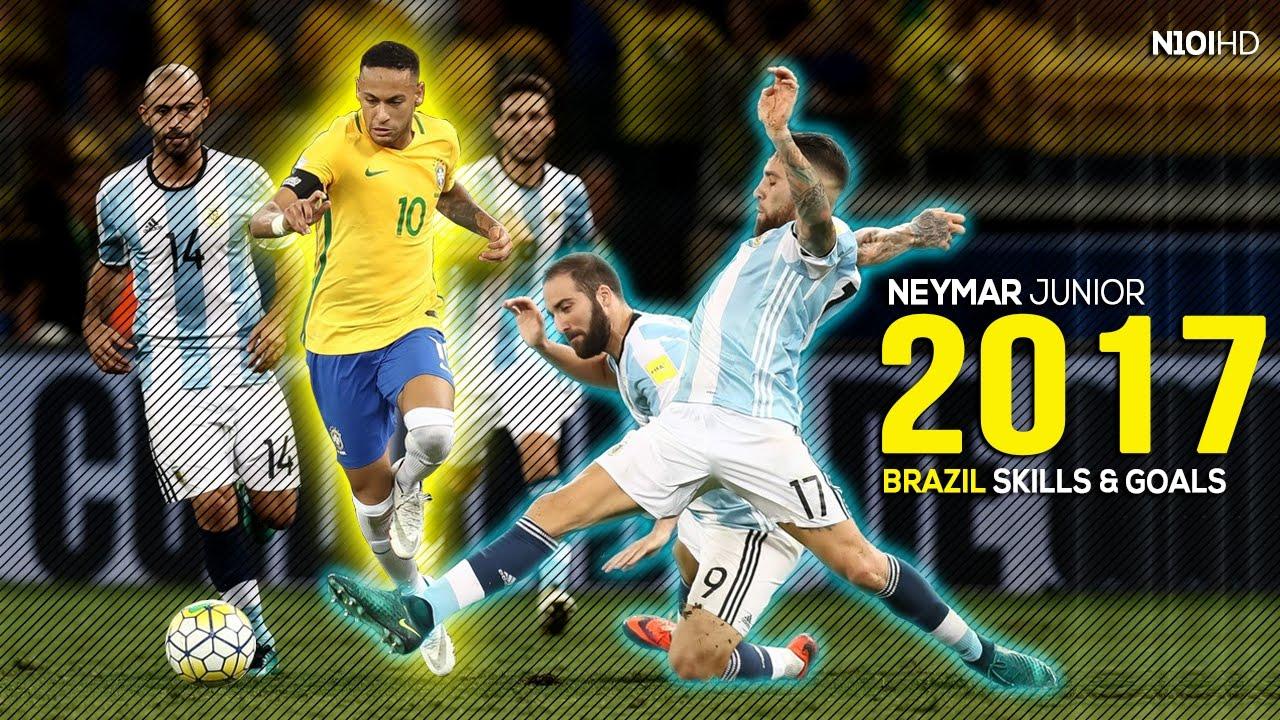 Neymar brazil legend skills goals 2016 2017 hd youtube - Neymar brazil hd ...
