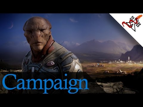 Grey Goo - Mission 7 THE WETLANDS | Campaign Walkthrough [HARD/1080p/HD]