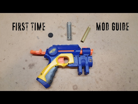 Comprehensive First Time Nerf Mod Guide