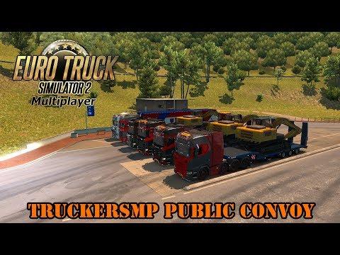 Public Convoy TruckersMP l Euro Truck Simulator 2 MP {G29}