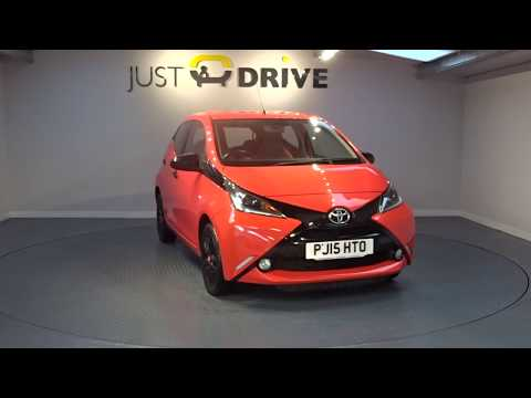 JUST DRIVE SOUTH WALES - used TOYOTA AYGO X-CITE VVTi 5 DR for sale in Bridgend, South Wales
