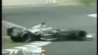 2006 F1 crashes