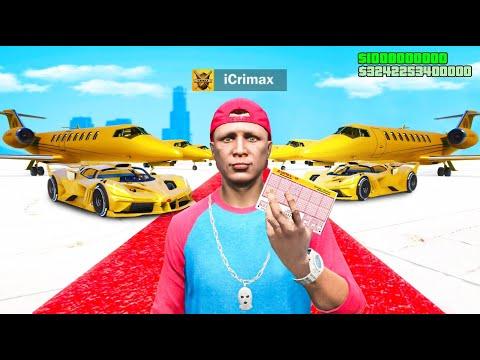 ICRIMAX gewinnt LOTTO in GTA 5 RP!