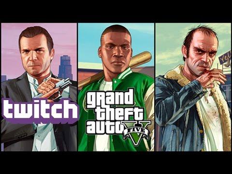 Grand Theft Auto V Online w/Friends #1