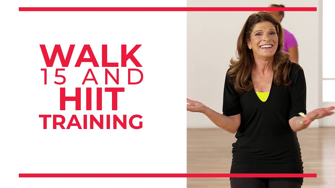 Walk 15 Leslie and Nick Hiit Training | 15 Minute Walking Workout