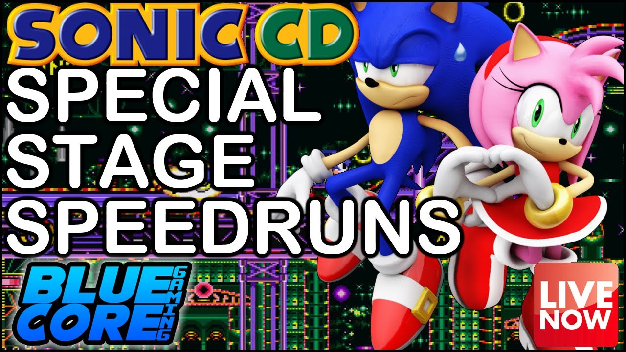 Sonic Cd Pc - Mods  Special Stage Speedruns - Youtube-5251