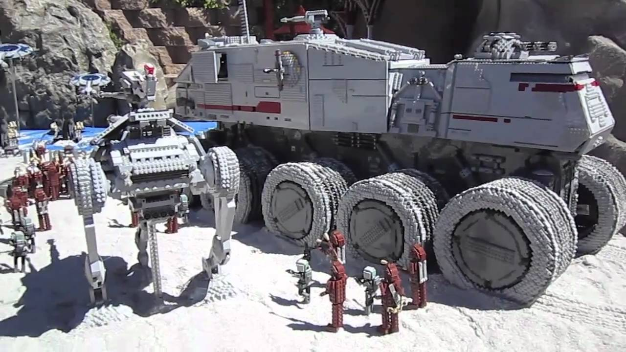 Legoland California Star Wars Miniland Grand Opening Youtube