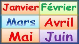 Versini - Janvier Février - Les mois de l'année - YourKidTv