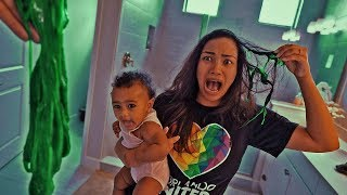 SLIME PRANK ON GIRLFRIEND!!! (GONE VERY WRONG)