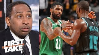 Kemba replacing Kyrie wouldn't instantly fix the Celtics – Stephen A. | First Take