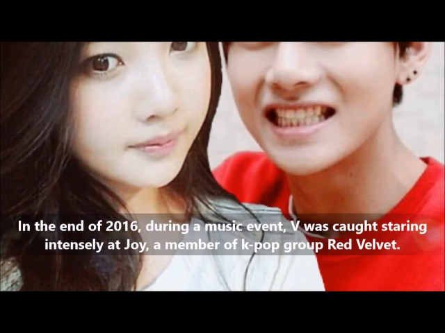Who is BTS V GIRLFRIEND
