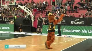 Moritz Sanders #4 | Tübingen vs. Nürnberg Falcons - ProA 2019-20
