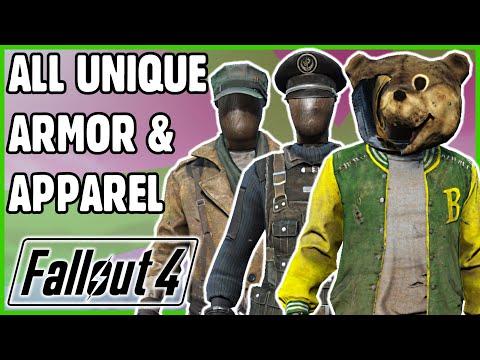 Fallout 4 - ALL Unique Apparel & Armor (Vanilla) | Re-Upload