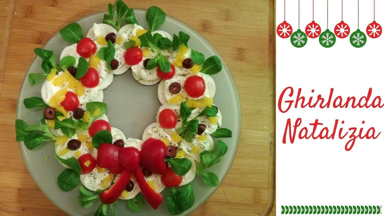 Antipasti Calabresi Di Natale.Antipasto Natalizio Ghirlanda Funny Recipe Youtube