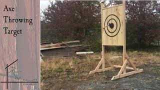 The Rusted Nail Axe Target