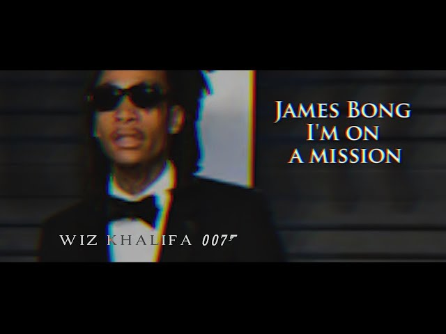 Wiz Khalifa - James Bong [Official Lyrics]