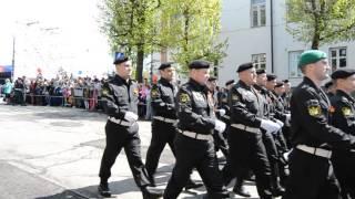 Парад в Ульяновске! даже военные улыбались