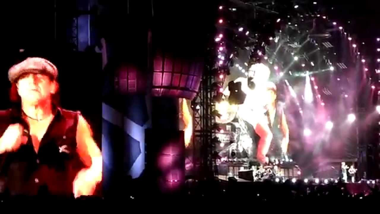 Acdc Whole Lotta Rosie In Dresden 20062010 Youtube