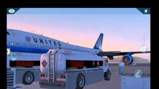 X-plane 10 android HD/Boeing 747-400. Landing and takeoff. PHNG. .