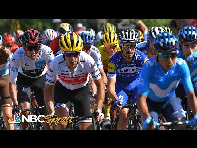 Tour de France 2019: Stage 8 | EXTENDED HIGHLIGHTS | NBC Sports
