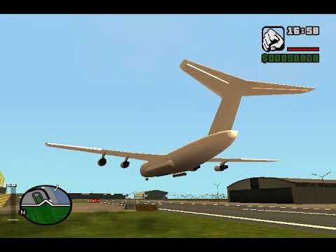 GTA San Andreas: Andromada Cargo Plane Beta-test