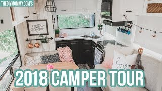 Renovated RV Tour 2018 | Our DIY Camper