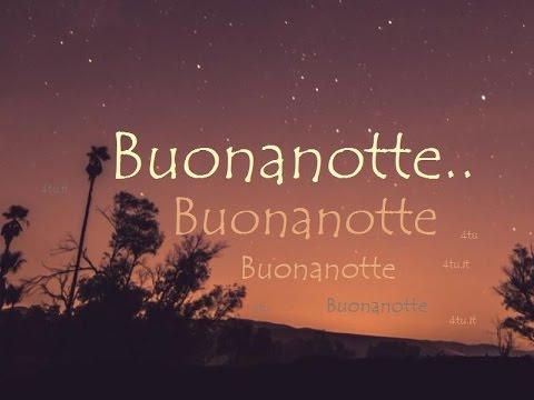 Poesia della buonanotte :