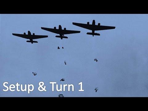 Crete 1941: Operation Mercury Playthrough (Setup & Turn 1)