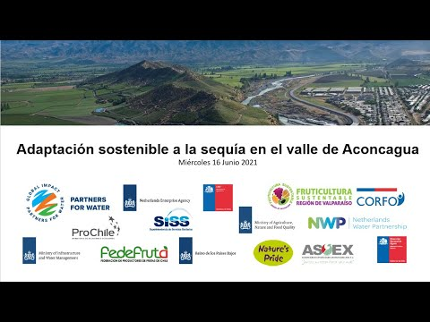 Sustainable Adaptation to Drought in the Chilean valley of Aconcagua Valley, session II, SP | NWP