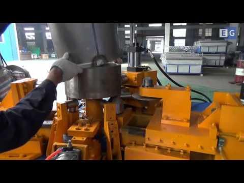 Станок для формовки фланцев воздуховода