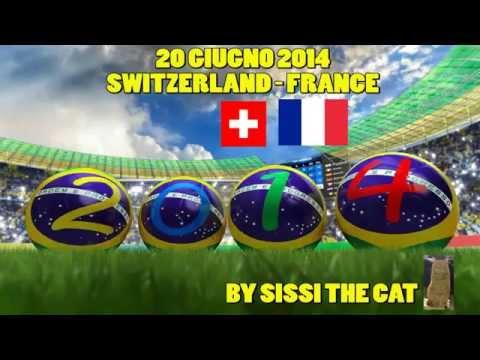 SWITZERLAND - FRANCE 2-5