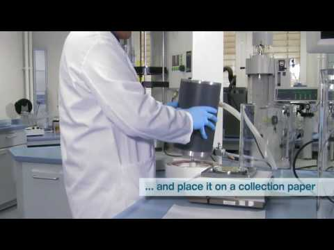 Buchi Nano Spray Dryer B-90 Operation Movie.avi