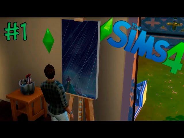 Sims 4 #1 O Início de um desafio