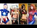 Avengers: Infinity War All Superheroes Hot Female Cosplay | Marvel Infinity War Unseen Lady Cosplay