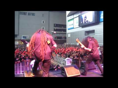 Cryptopsy's trip to the Loud Park Festival in Japan, 2012