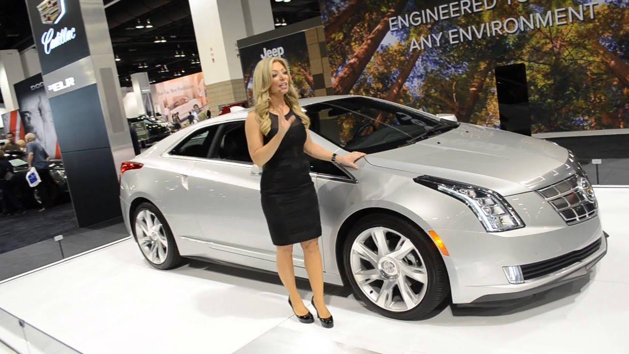 Cadillac Elr Electric Car Youtube
