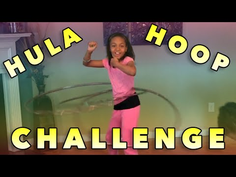 The Hula Hoop Challenge!  (Kennedy vs Taylor)
