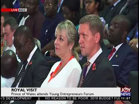 Prince Of Wales Attends Young Entrepreneurs Forum - JoyNews Interactive (5-11-18)