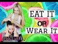 Eat It or Wear It Challenge! - Madi Lee Vlogs mp3
