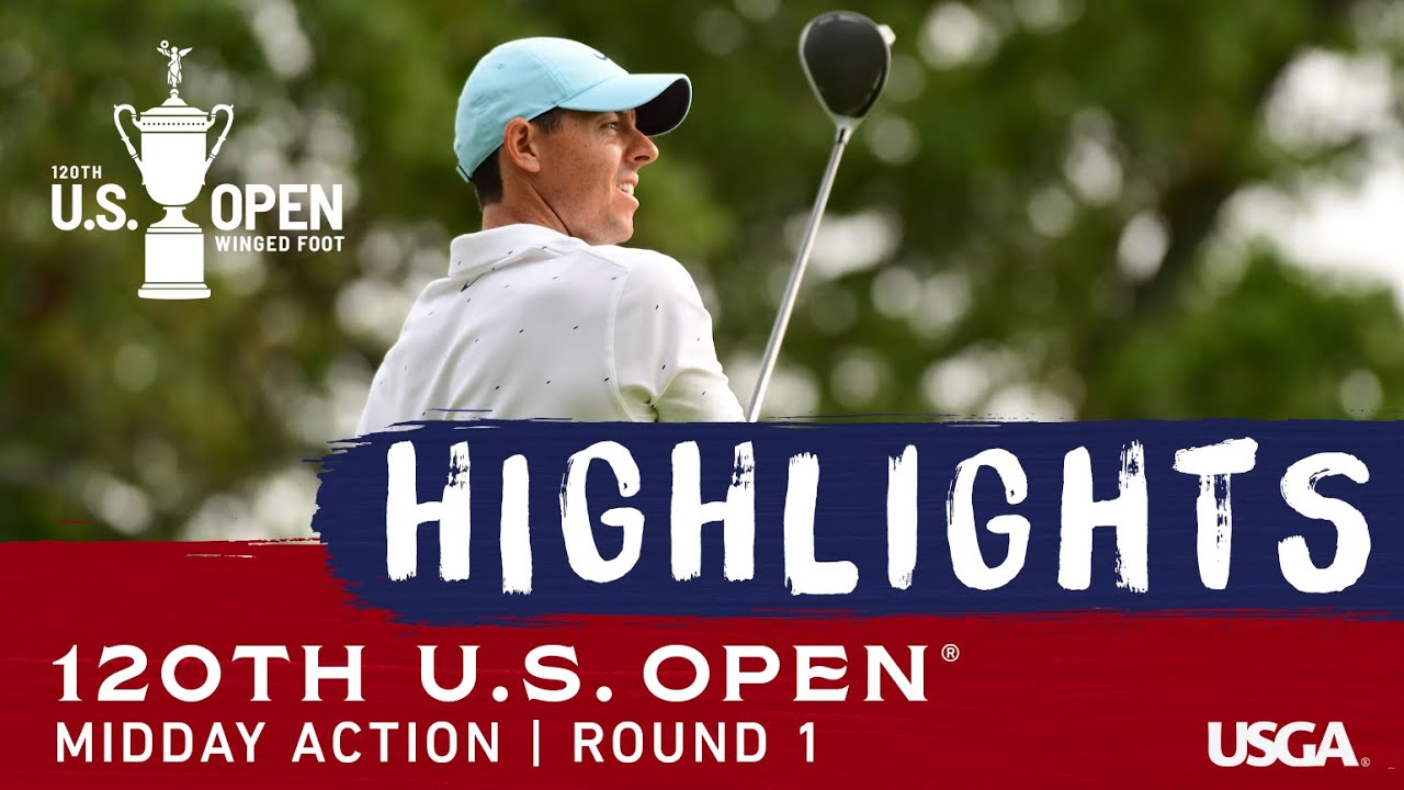 2020 U.S. Open, Round 1: Midday Highlights
